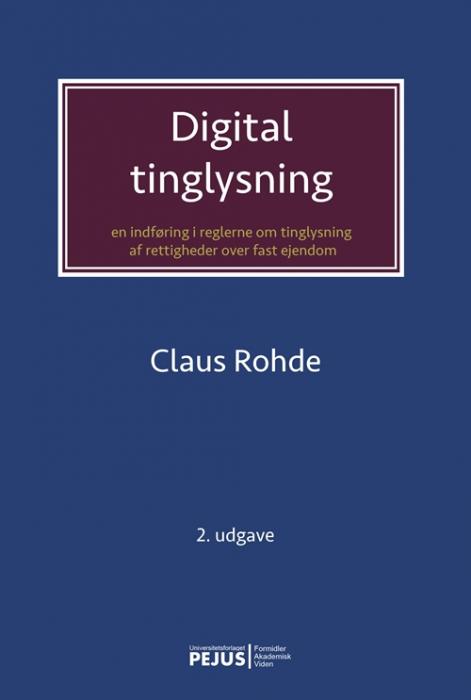 Digital tinglysning (Bog)