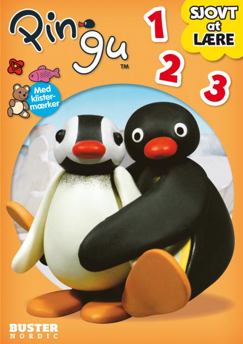 Pingu: Sjovt at lære Alfabetet (Bog)