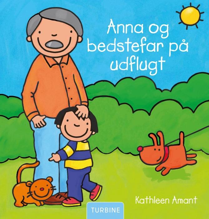 Image of   Anna og bedstefar på udflugt (Bog)
