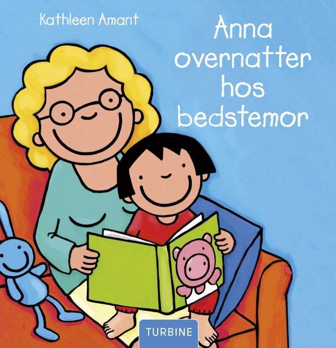 Image of   Anna overnatter hos bedstemor (Bog)