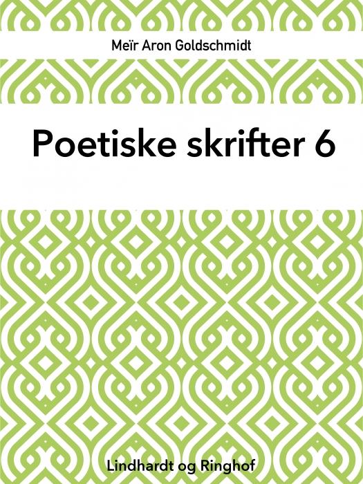 Poetiske skrifter 6 (Bog)