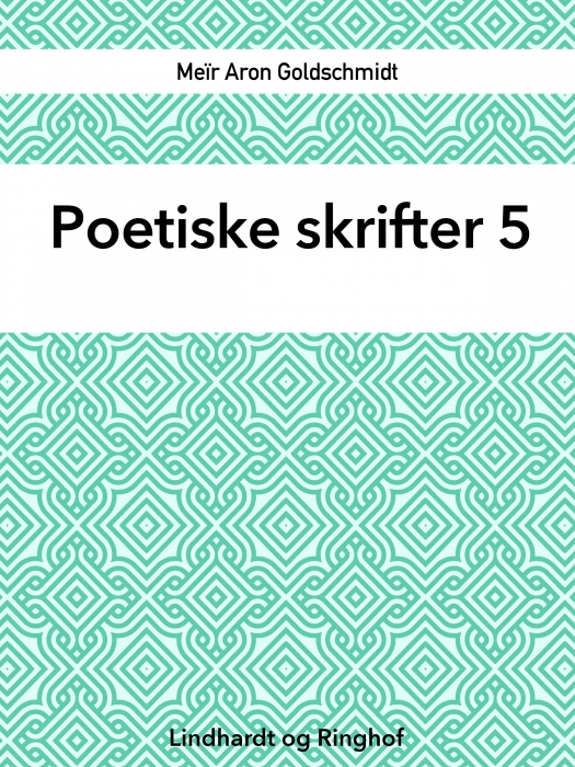 Poetiske skrifter 5 (Bog)