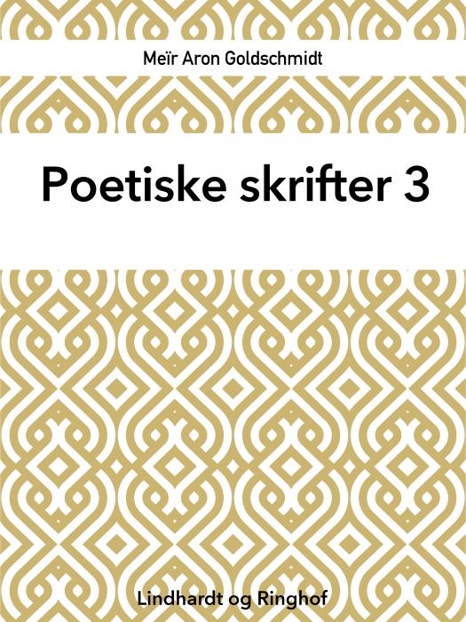 Poetiske skrifter 3 (Bog)