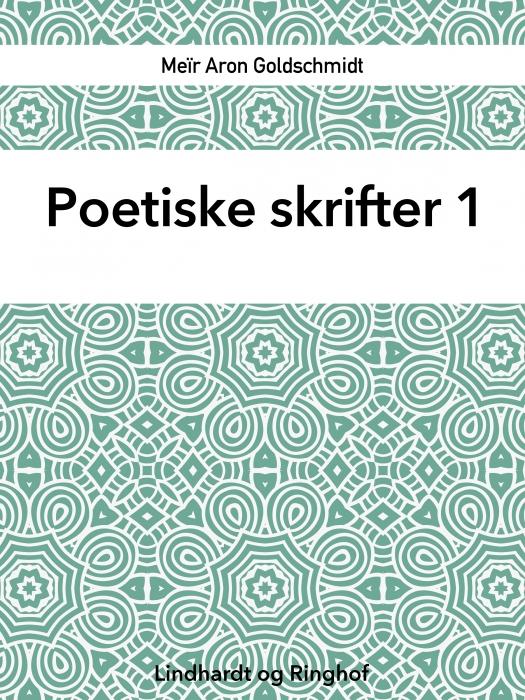 Poetiske skrifter 1 (Bog)