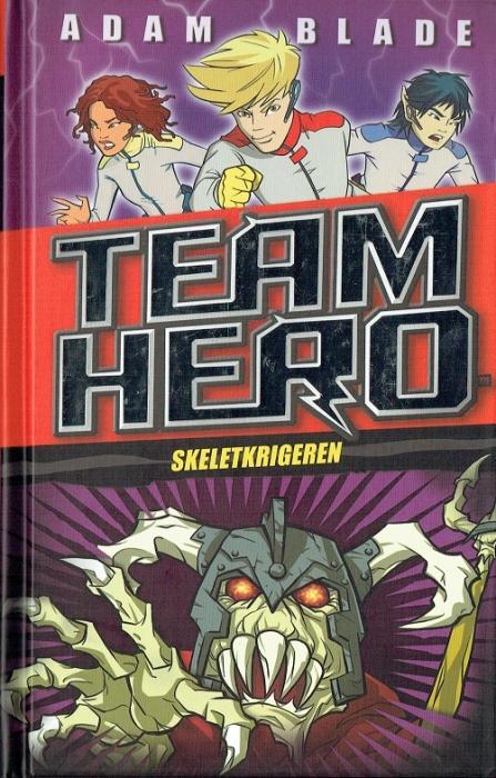 Image of Team Hero (4) Skeletkrigeren (Bog)