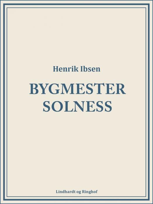 Image of   Bygmester Solness (Bog)