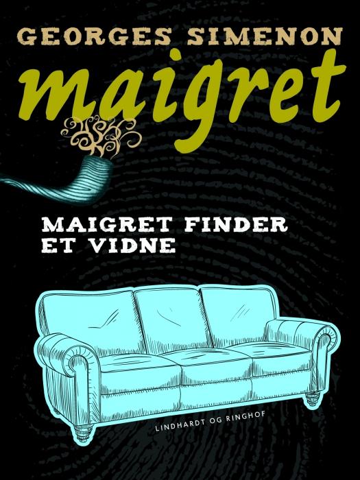 Maigret finder et vidne (Bog)