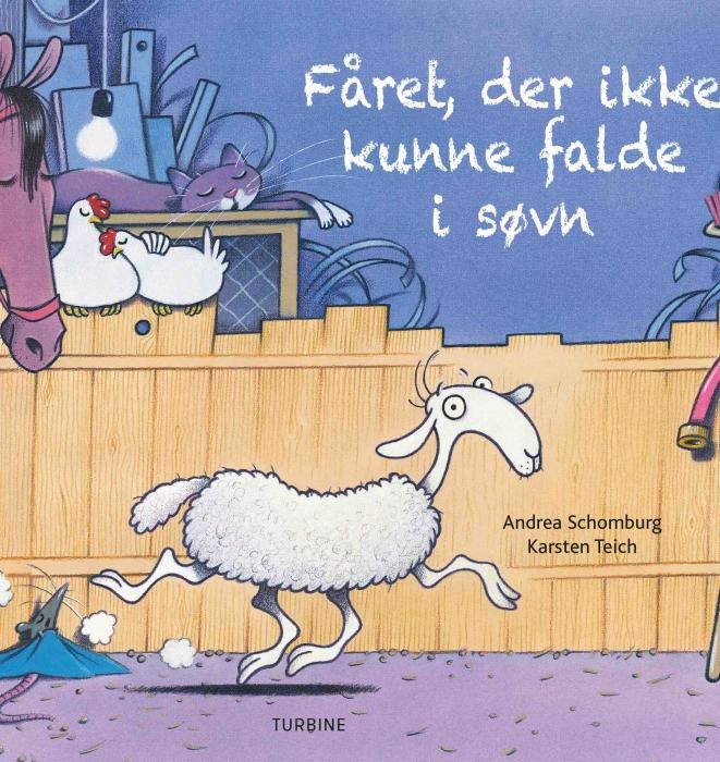 Image of   Fåret, der ikke kunne falde i søvn (Bog)