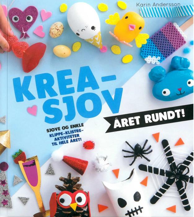 Image of   Krea-sjov året rundt! (Bog)