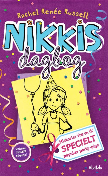 Image of   Nikkis dagbog 2: Historier fra en ik specielt populær party-pige (E-bog)