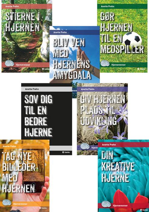 Image of Serie med syv minibøger - Hjernevenner (Bog)