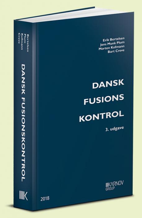 Image of   Dansk Fusionskontrol (Bog)