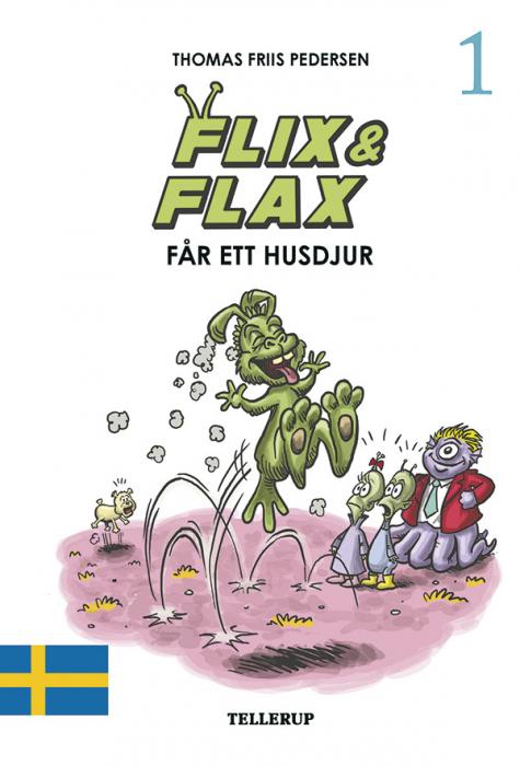Flix & Flax #1: Flix & Flax får ett husdjur (Lydbog)