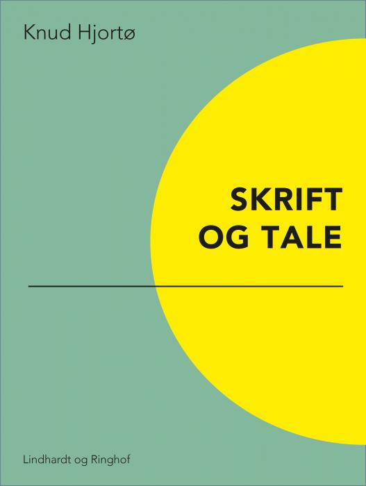 Image of   Skrift og tale (Bog)