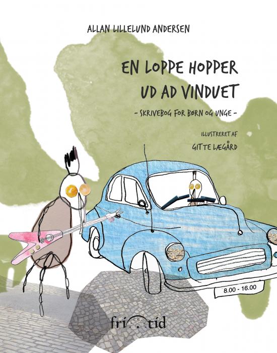 Image of En loppe hopper ud ad vinduet (Bog)