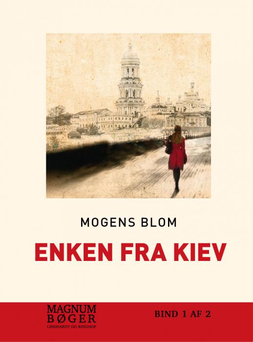 Image of   Enken fra Kiev (Bog)