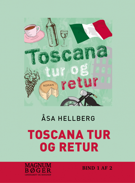 Image of Toscana tur og retur (storskrift) (Bog)