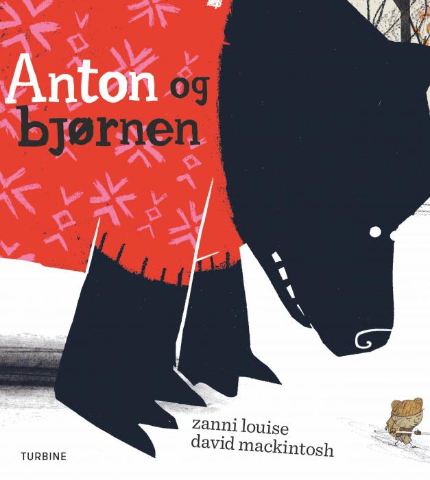 Image of   Anton og bjørnen (Bog)
