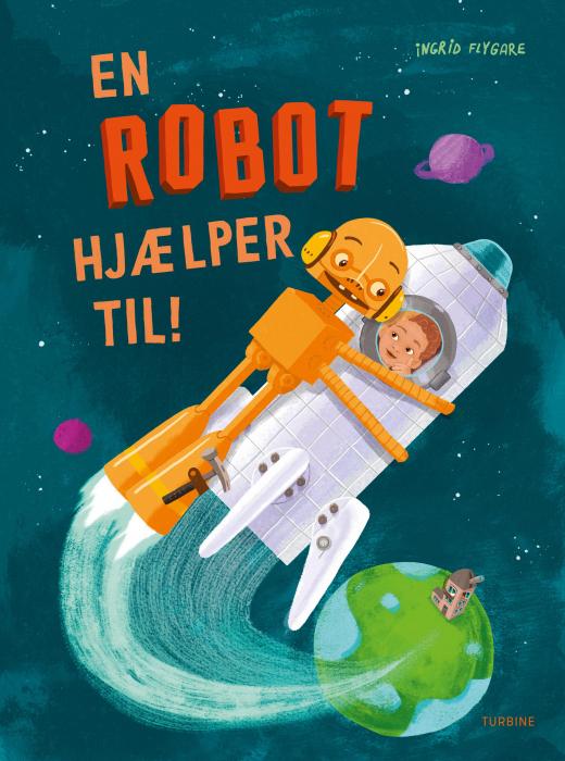 Image of   En robot hjælper til! (Bog)