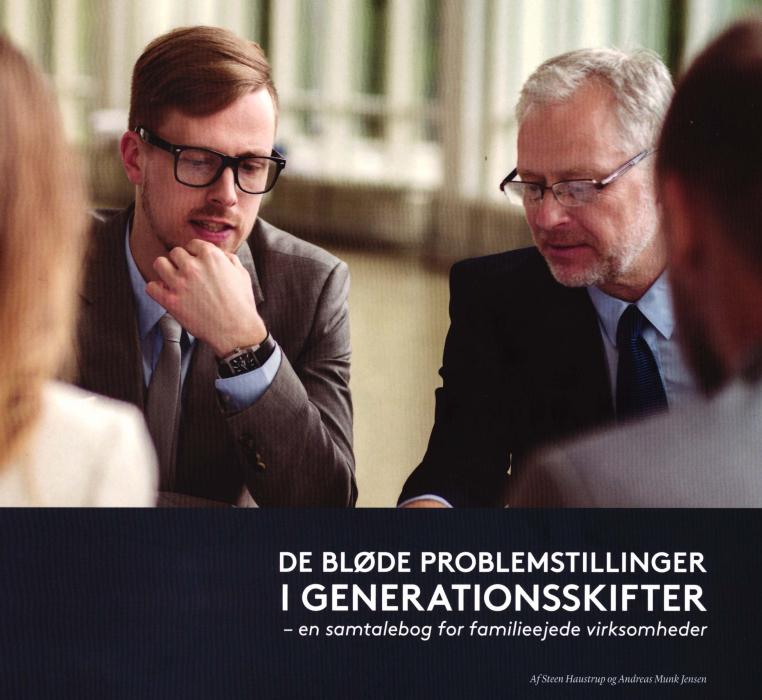 De bløde problemstillinger i generationsskifter (Bog)