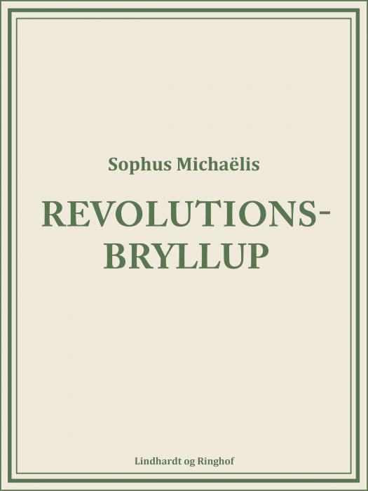 Revolutionsbryllup (Bog)