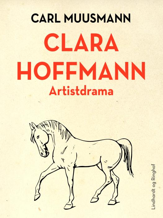 Image of   Clara Hoffmann: Artistdrama (Bog)