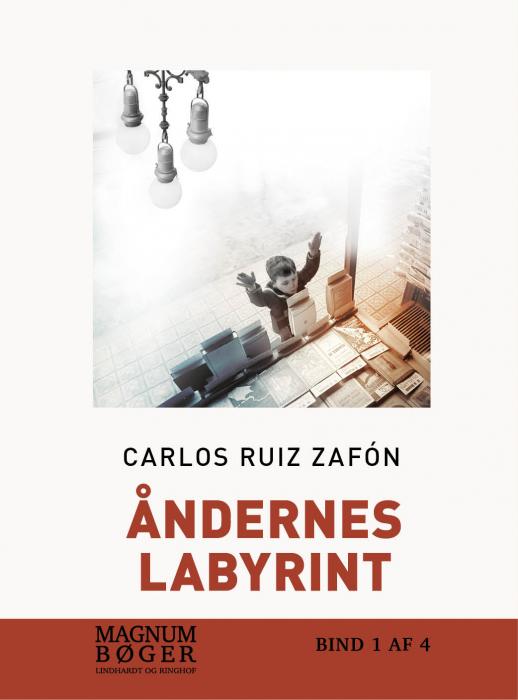Image of   Åndernes labyrint (storskrift) (Bog)