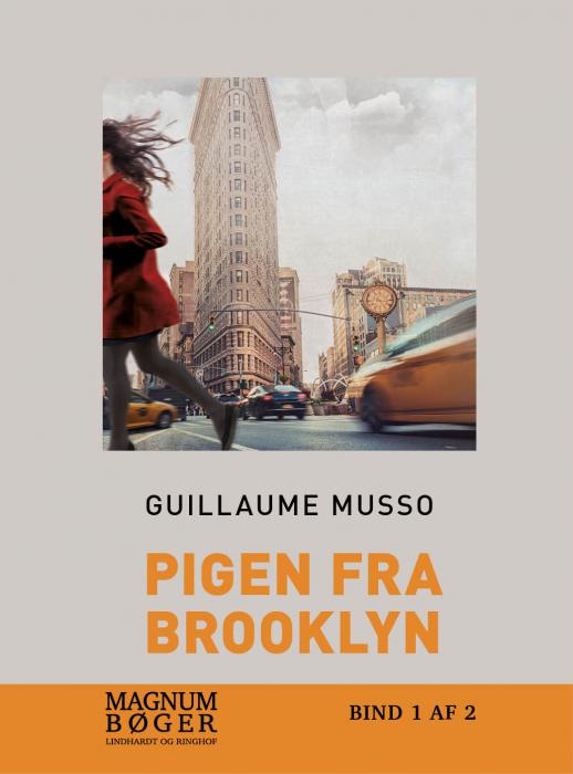 Image of   Pigen fra Brooklyn (storskrift) (Bog)