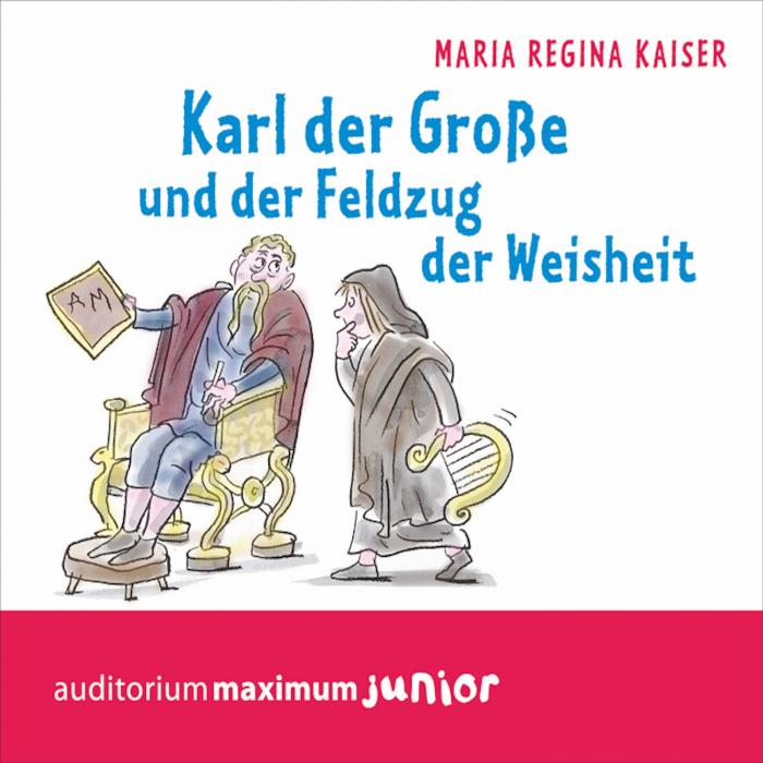 Image of   Karl der Große und der Feldzug der Weisheit (Lydbog)