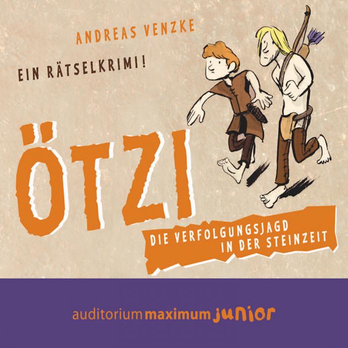 Image of Ötzi - Die Verfolgungsjagd in der Steinzeit. Ein Rätselkrimi (Lydbog)