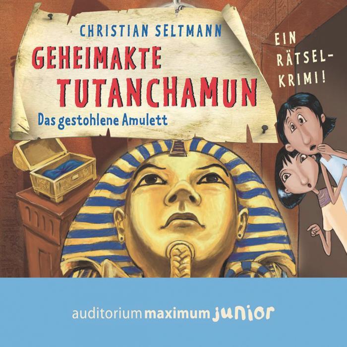 Geheimakte Tutanchamun - Das gestohlene Amulett. Ein Rätselkrimi (Lydbog)