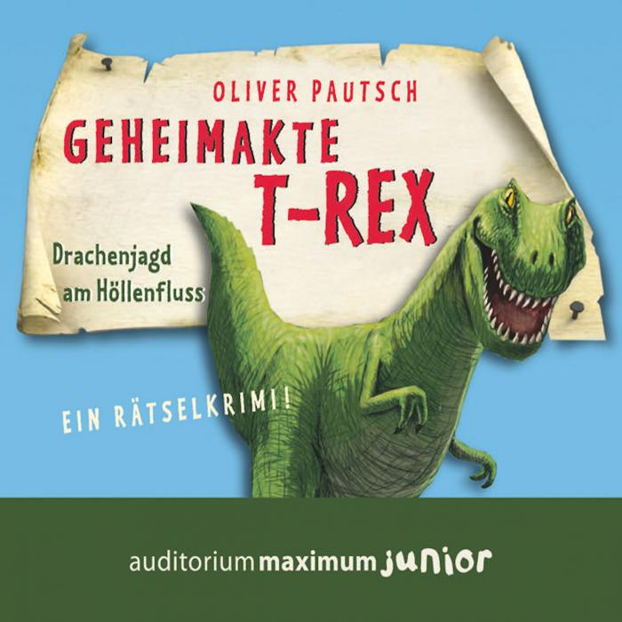 Geheimakte T-Rex - Ein Rätselkrimi (Lydbog)