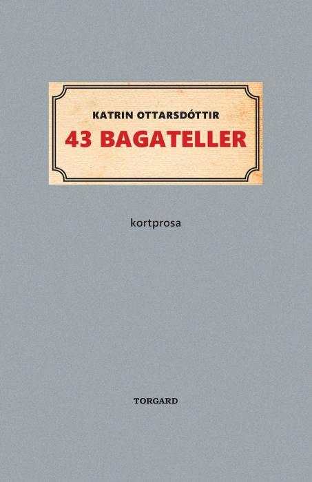 43 bagateller (E-bog)