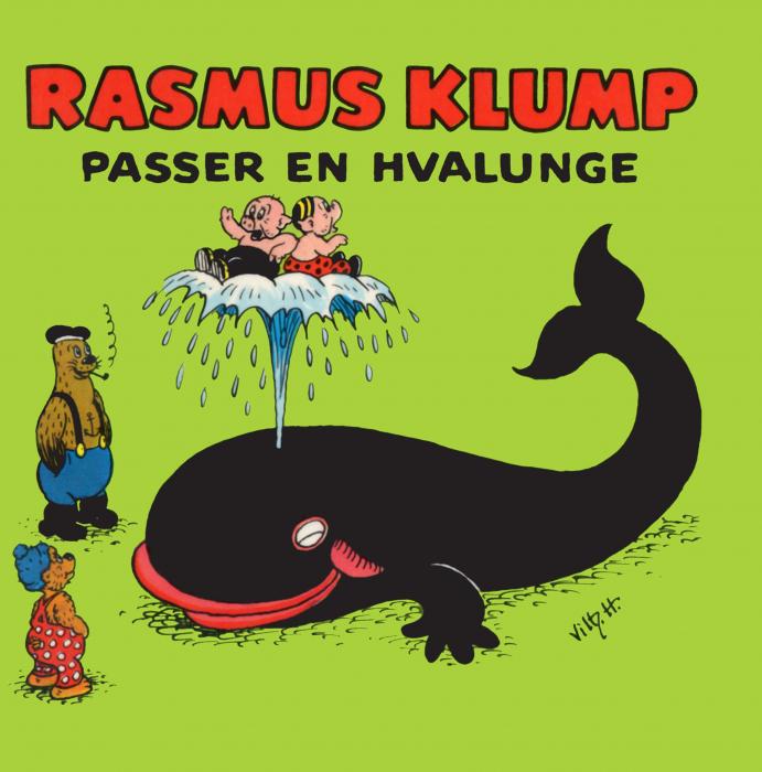 Rasmus Klump passer en hvalunge (Lydbog)
