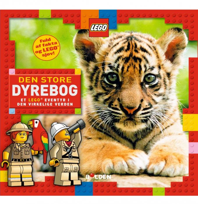 Image of   Den store dyrebog - Et LEGO® eventyr i den virkelige verden (Bog)