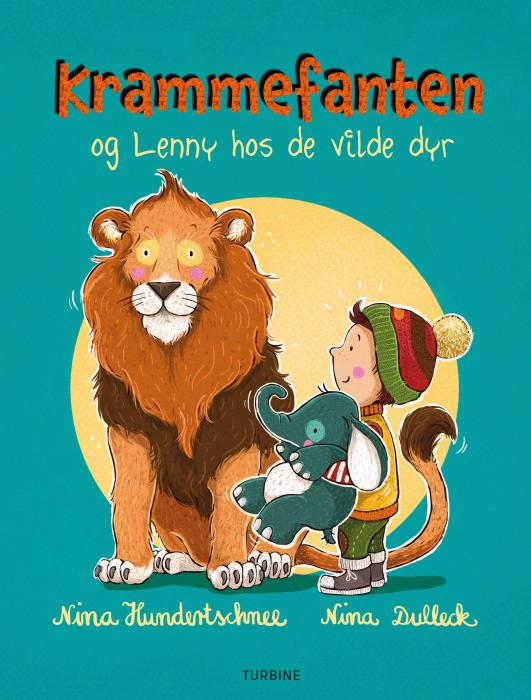 Krammefanten og Lenny hos de vilde dyr (Bog)