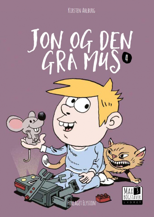 Jon og den grå mus (Bog)