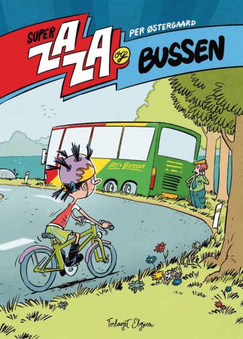 Super Zaza og bussen (Bog)