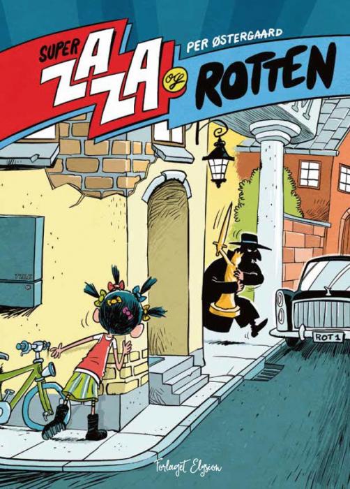 Super Zaza og Rotten (Bog)