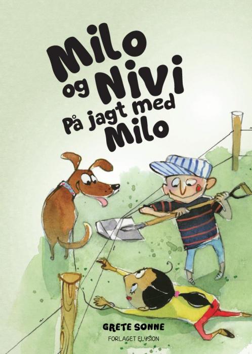 På jagt med Milo (Bog)