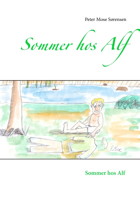 Image of   Sommer hos Alf (Bog)