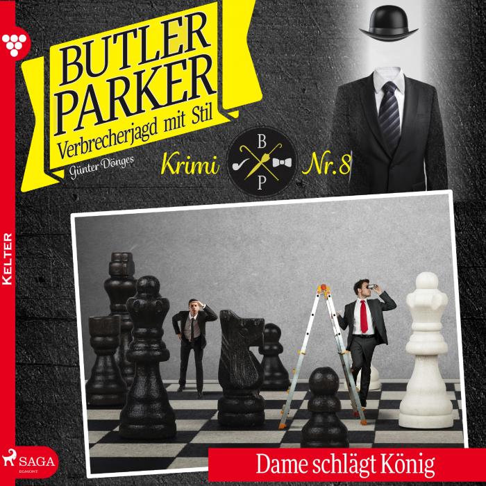 Image of   Butler Parker 8: Dame schlägt König (Lydbog)