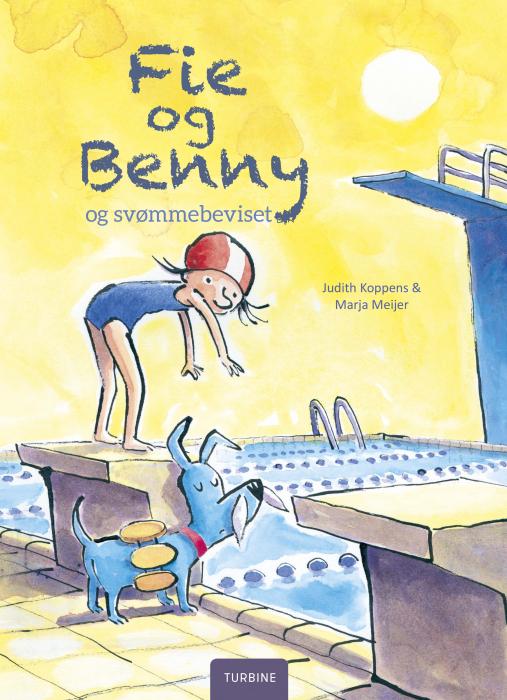 Image of   Fie og Benny og svømmebeviset (Bog)