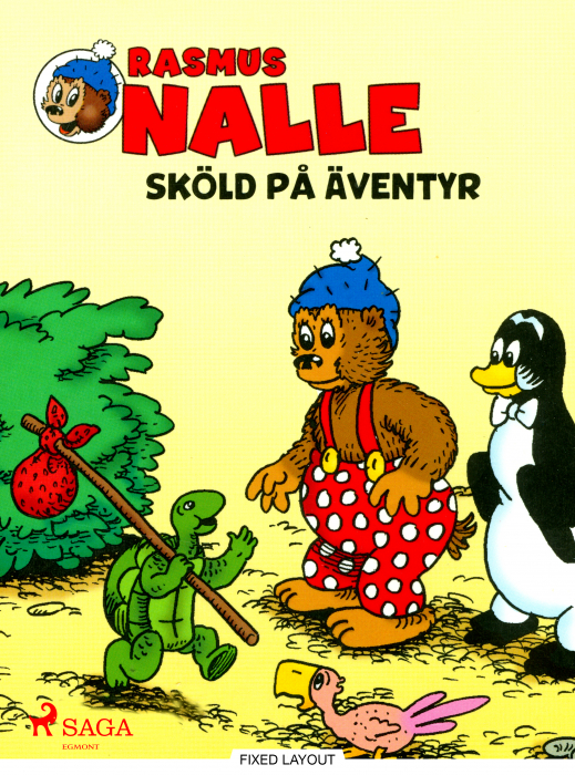 Rasmus Nalle  -  Sköld på äventyr (E-bog)