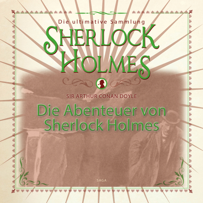 Image of Die Abenteuer von Sherlock Holmes - Die ultimative Sammlung (Lydbog)