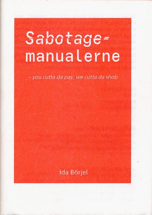 Sabotagemanualerne (Bog)