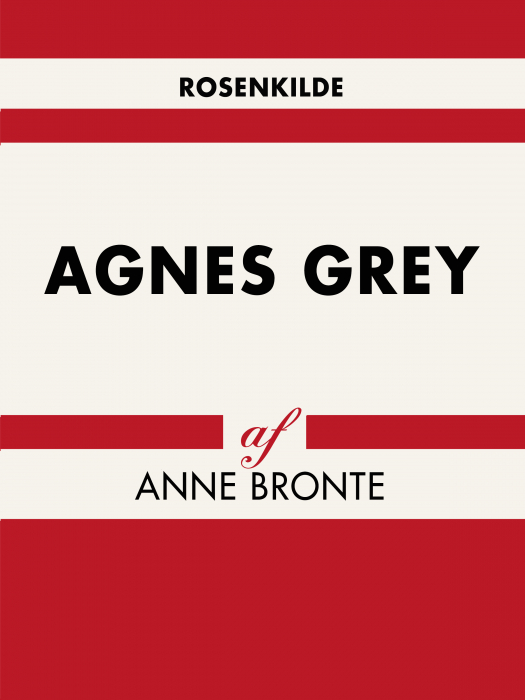 Image of Agnes Grey (Bog)