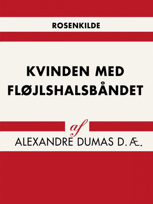 Image of Kvinden med fløjlshalsbåndet (Bog)