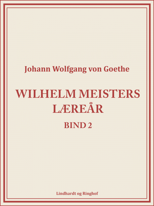Wilhelm Meisters Læreår 2 (Bog)