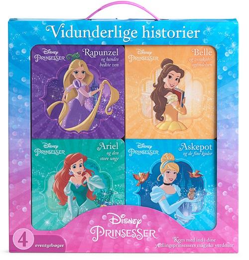 Image of   Disney Vidunderlige Hístorier - Prinsesser (Bog)